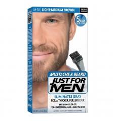 JUST FOR MEN - ZA BRKOVE I BRADU boja: svetlo srednja smeđe M30